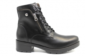 Black garden A909651D Black Boots Amphibians Above-the-Ankle Women's