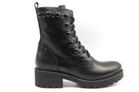 Black garden A909823D Black Boots Above the Ankle Women