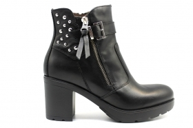 Black garden A909660D Black Boots Above the Ankle Women