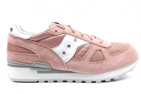 Saucony Shadow SK261570 Rosa Sneakers Donna Bambini Scarpa Casual Sportiva