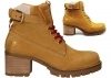 Lumberjack DEMI SW68501 001 D01 Yellow Boot Woman, Ankle, Comfortable