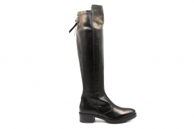 Black garden A909602D Black Boots Women Above Knee Plateau
