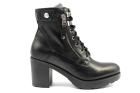 Black garden A909663D Black Boots Above the Ankle Women