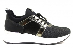 Black garden A908892D Black Anthracite Sneakers Shoes ladies Comfortable Footwear