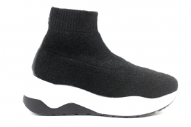 IGIeCO 4149600 Black Sneakers Socks Women Ankle