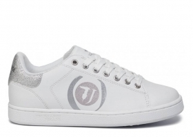 Trussardi Jeans 79A00423 White Sneakers Woman Sports Shoe