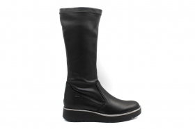 IGIeCO 4169200 Black Knee-high Boots Woman