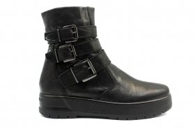 IGIeCO 4170000 Black ladies Boots Ankle Fashion