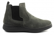 IGIeCO 4108922 Grey Ankle Boots Men's Shoes Shoes Casual