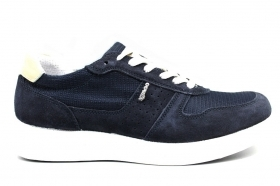 IGI and CO 3120100 Blue Sneakers Shoes Man Shoes Casual