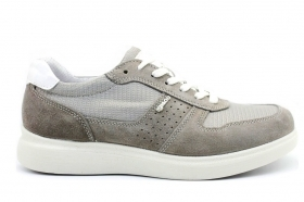 IGI and CO 3120122 Grey Sneakers Men's Shoes Shoes Casual