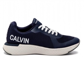 Calvin Klein Jeans AMOS MESH S0584 Navy Shoe for a Sporty Casual
