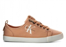 Calvin Klein Jeans DORA CANVAS R3556 Pink Shoe for a Sporty Casual