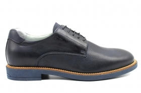 Black garden P900891U Blue Oxfords Shoes Casual Men