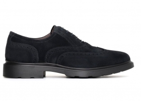 Black garden A705281U Blue and Dove grey Lace-up Shoes mens Casual English Style