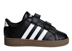 Adidas BASELINE CMF INF F36237 Black, From 20 to 27 kids trainers