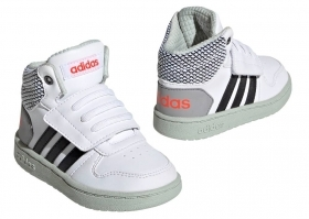 Adidas HOOPS MID 2.0 EE8549 White, From 20 to 27 Baby Shoes Gymnastics