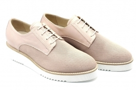 Black garden P907701D Flesh Oxfords Shoes Woman Casual