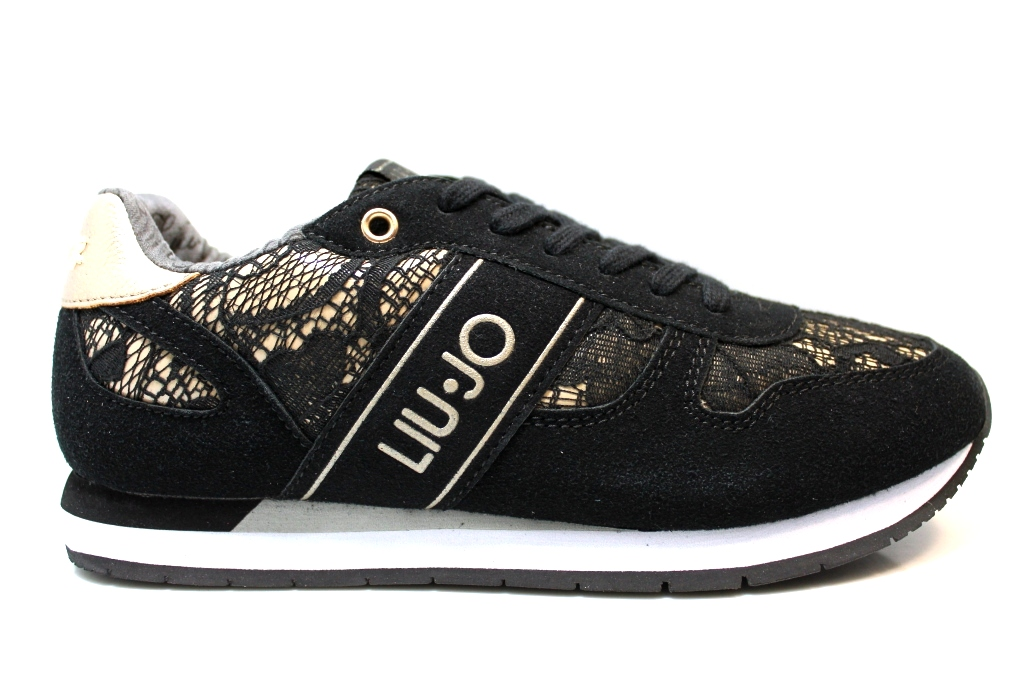 b461cd925c503 Liu Jo Girl UM23277C Nero Sneakers Scarpe Donna Bambina Calzature Comode