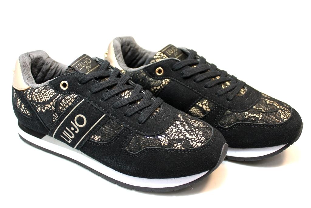 Liu Jo Girl UM23277C Nero Sneakers Scarpe Donna Bambina Calzature Comode 5e11e0dc2ff