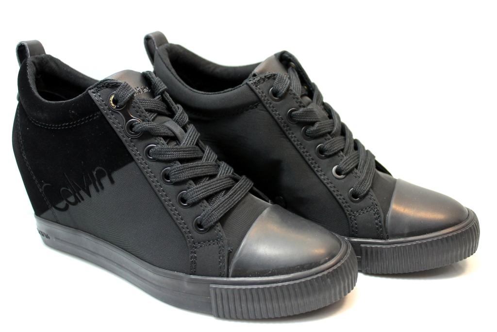 Descrizione. Sneakers Donna RORY NYLON FLOCKING R0647 Bianco-Nero e Nero  Polacchine Scarpe ... 18375e72076