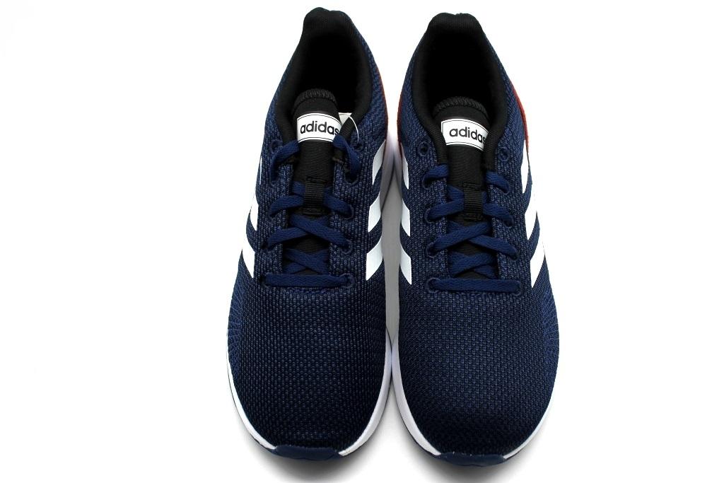 size 40 b6e2f 4335a Descrizione. Adidas RUN70S K BC0847 Blu con profili arancio e baffatura  bianca Scarpe Donna Bambini ...